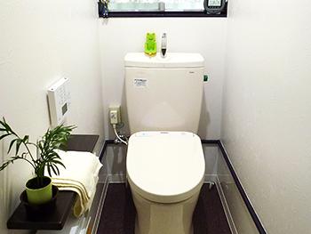 30年来のトイレ、手洗器付の素敵なトイレに!